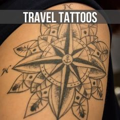 The most beautiful travel inspired tattoos from across the globe all in one place.