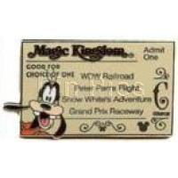 Magic Kingdom - Ticket Book Series - Goofy C