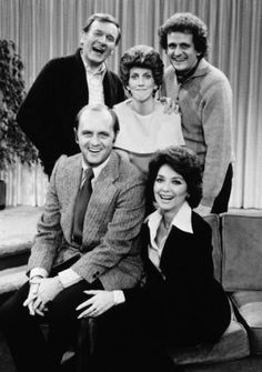 The Bob Newhart Show (1972-1978) Starring Bob Newhart, Suzanne Pleshette, Marcia Wallace, Peter Bonerz & Bill Daily