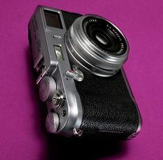 fujifilm retro-styled camera