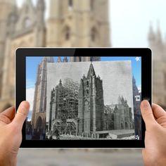 Realidad Aumentada. Imágenes para ilustrar presentaciones. Aurasma. 2011