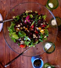 Black rice salad: www.52weeksofdeliciousness.com