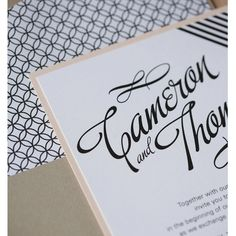 Modern Wedding Invitation, 1950s Retro Modern Invitation, Audry Hepburn Invitation, Poolside cabana wedding invitation