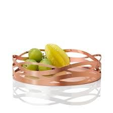 I'd prefer it wider and as a tray. Stelton Fruitbowl