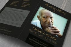 Check out Funeral Template - BiFold by Visual Impact on Creative Market