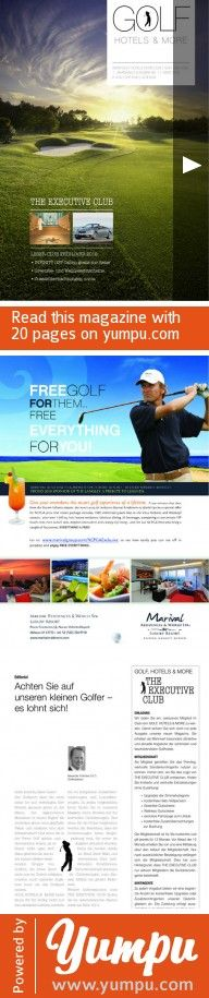 GOLF HOTELS & MORE beta - Magazine with 20 pages: fsdfsdf