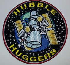 "4"" Nasa Space Patch Hubble Huggers"