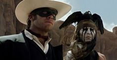 Japanese Character Posters For 'The Lone Ranger Revealed