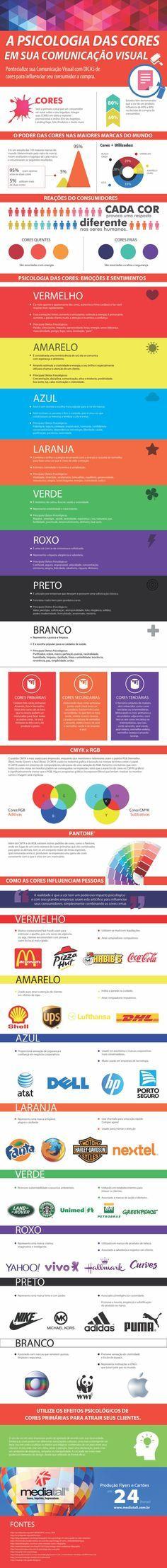 Dicas para impactar o público a partir das cores