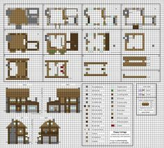 Minecraft Construction Plan Chateau