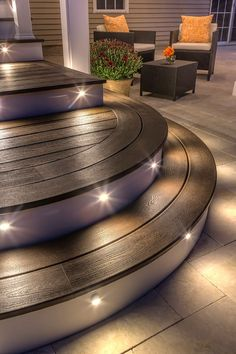 Incorporating lighting into your deck space is the easiest way to enjoy outdoor living long after the sun has gone down. See all of our outdoor lighting options at http://www.trex.com/products/decor-and-furniture/outdoor-lighting/.