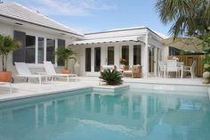 West Palm Beach house rental - Private Heated Plunge Pool with Water Feature and Therapy Jets