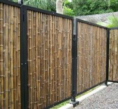 unusual privacy fence ideas many materials and. Black Bedroom Furniture Sets. Home Design Ideas