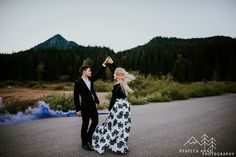 Pacific Northwest Adventure engagement session with Sarah and Heath near the Snoqualmie Pass near Seattle, Washington with local Seattle wedding photographer, Rebecca Anne Photography.