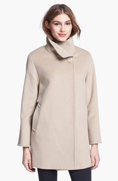 Cinzia Rocca Due Convertible Collar Wool Coat (Petite) available at #Nordstrom