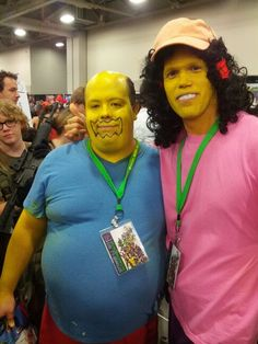 The Simpsons cosplay at Salt Lake Comic Con 2013