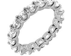 Flecha diamante eternidad Band anillo de por MichaelGabriels