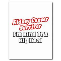 Three year kidney cancer survivor! Woohoo!