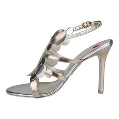High heels in metal colours from #Högl