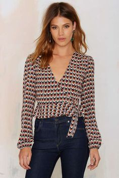 After Party Vintage Lissa Wrap Top | Shop Clothes at Nasty Gal!