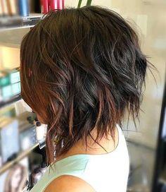 cool Wirklich stilvolle kurze Choppy Haircuts für Damen