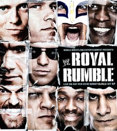 Image result for wwe poster royal rumble