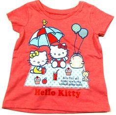 Outlet - Růžové tričko s Hello Kitty zn. Sanrio+Nutmeg