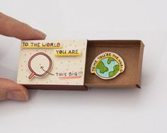 Anniversaire amour carte Matchbox / boîte de cadeau / par shop3xu Cute Crafts, Diy Crafts, Matchbox Crafts, Funny Encouragement, Love Box, You Are The World, Couple Gifts, Small Gifts, Little Gifts