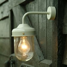 Outdoor barn lamp £45 other colours available