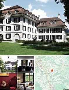 Nichée au cœur d'un parc romantique comptant plus de 3500 rosiers, cette maison de campagne est située à Konolfingen, à 20 minutes de Berne. Les clients trouveront la collégiale protestante de la cathédrale de Berne, l'Oberland bernois et la rivière qui traverse Berne à environ 19 km de cet hôtel historique, tandis que les grottes de St-Beatus sont à environ 38 km.
