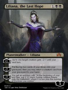 liliana, the last hope full art