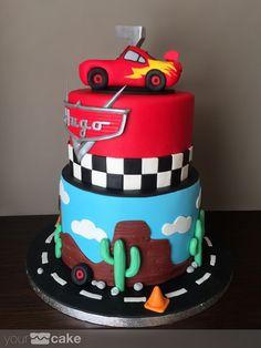 Your Cake. Tarta Rayo McQueen
