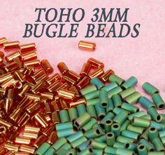 New Arrivals, Including TOHO Bugle Beads