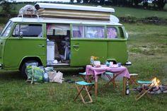 junkaholique vw van camping