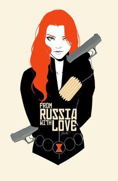 Natasha Romanov - International Super Spy! •Jake Bartok