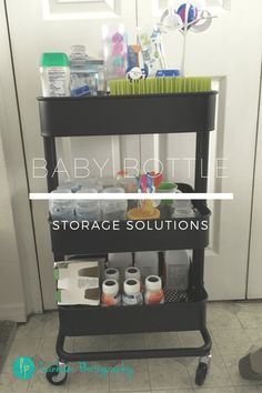 Baby Bottle Storage Solutions & organizing with style How to Organize Baby Bottles | Family ...