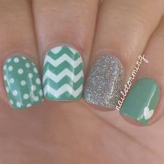 """My go-to mix n match  using """"My Dogsled Is a Hybrid"""" (seafoam green) and """"My Voice Is A Little Norse"""" from @opi_products Nordic collection from @hbbeautybar!"""