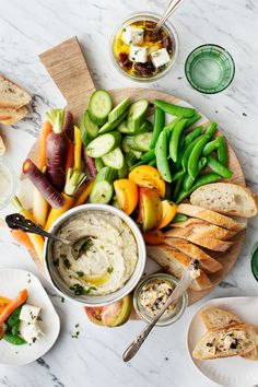 Veg Out Platter (i.e. the Ultimate Crudité Board)