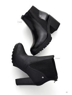 Boots  - Cano Baixo - Coturno -  Solado tratorado - Fashion - Style