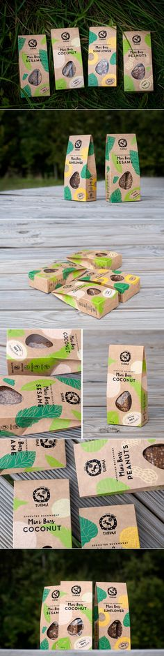 The Packaging For These Healthy Snacks Reinforce a Natural Organic Feeling — The Dieline | Packaging & Branding Design & Innovation News