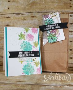 Oh So Succulent Stamp set, Stampin' Up!  Create beautiful cards using this gorgeous set with succulents.  Coordinating framelits make creating easy and time saving.