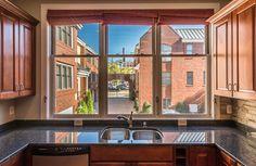 Sunny kitchen view #rva