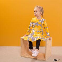 PaaPii Design SINNA skaterdress, Buttercup Buttercup, Skater Dress, Light Blue, Sun, Black And White, Grey, Blouse, Design, Tops