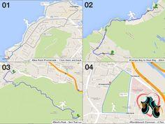 9. Popular running routes