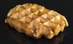 """Authentic Liège waffles are one of life's great indulgences — caramelized sugar glistening on a tender, buttery, vanilla-laden joy for the senses. Unfortunately, the """"original recipe"""" has been long…"""