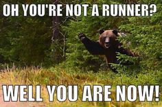 Oh You're Not A Runner?   You are Now!