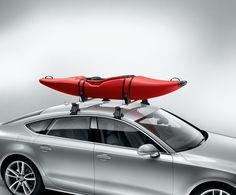 Take to the water with the Audi kayak roof rack this summer. Available here: http://www.m25audi.co.uk/audi-accessories.html