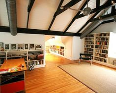 Attic Remodel Design Ideas, Pictures, Remodel, and Decor - page 15