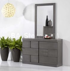Sydney Dresser and Mirror by Chintaly Imports