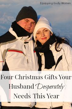 Four Christmas Gifts Your Husband Desperately Needs--Great list! and Definitely some things to work on! Biblical Marriage, Marriage And Family, Marriage Tips, Happy Marriage, Godly Wife, Godly Woman, Rekindle Love, I Love My Hubby, Proverbs 31 Woman